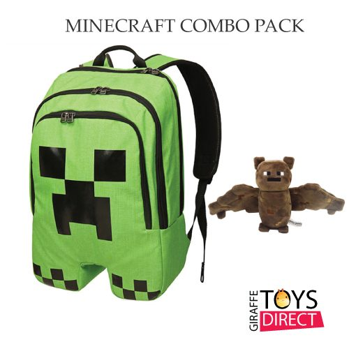 Minecraft Bag Bat Toy