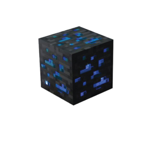 blue minecraft lamps